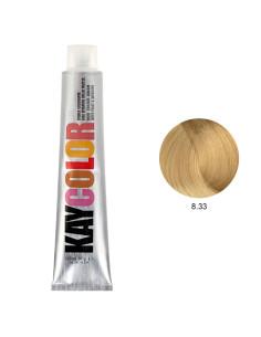 Kaycolor - Coloração 8.33 Louro Claríssimo Dourado Intenso 100ml | Kay Color