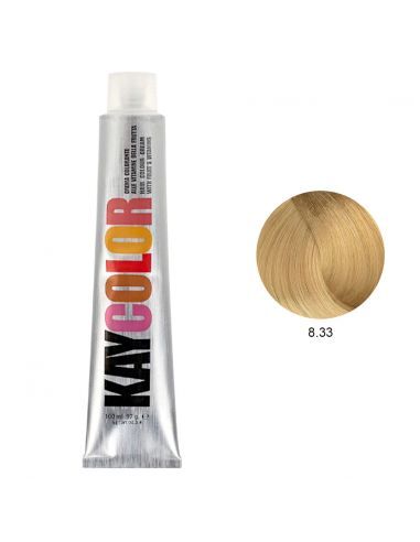 Kaycolor - Coloração 8.33 Louro Claríssimo Dourado Intenso 100ml | KayColor