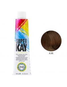 Coloração 6.00 Loiro Escuro 180ml - SuperKay | SUPERKAY