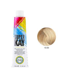 Coloração 10.00 Loiro Platinado 180ml - SuperKay | Super Kay