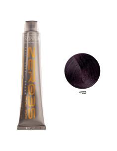 Coloração Sem Amoníaco 100ml - 4/22 Castanho Violeta Vibrante - Zero35 - Emmebi | Zero35 Sem Amoníaco