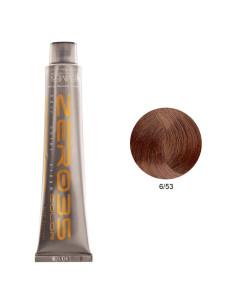 Coloração Sem Amoníaco 100ml - 6/53 Loiro Escuro Mogno Dourado - Zero35 - Emmebi | Zero35 Sem Amoníaco