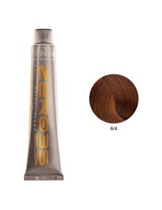 Coloração Sem Amoníaco 100ml - 6/4 Loiro Claro Acobreado - Zero35 - Emmebi   Zero35 Sem Amoníaco