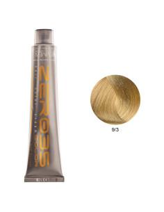 Coloração Sem Amoníaco 100ml - 9/3 Loiro Claríssimo Dourado - Zero35 - Emmebi | Zero35 Sem Amoníaco