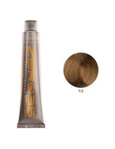 Coloração Sem Amoníaco 100ml - 7/3 Loiro Dourado - Zero35 - Emmebi | Zero35 Sem Amoníaco