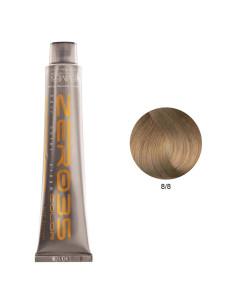 Coloração Sem Amoníaco 100ml - 8/8 Brandy - Zero35 - Emmebi   Zero35 Sem Amoníaco