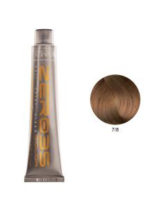 Coloração Sem Amoníaco 100ml - 7/8 Cognac - Zero35 - Emmebi | Zero35 Sem Amoníaco