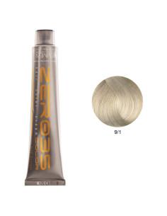Coloração Sem Amoníaco 100ml - 9/1 Loiro Cinza Claríssimo - Zero35 - Emmebi | Zero35 Sem Amoníaco