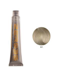 Coloração Sem Amoníaco 100ml - 8/1 Loiro Cinza Claro - Zero35 - Emmebi | Coloração sem Amoníaco