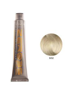 Coloração Sem Amoníaco 100ml - 9/02 Loiro Claríssimo Frio - Zero35 - Emmebi | Zero35 Sem Amoníaco