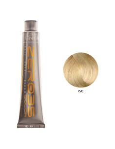 Coloração Sem Amoníaco 100ml - 8/0 Loiro Claro - Zero35 - Emmebi | Zero35 Sem Amoníaco