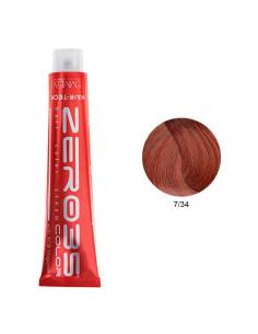 Coloração Hair-Tech 100ml - 7/34 Loiro Arruivado Dourado - Zero35 - Emmebi | Zero35 Com Amoníaco