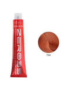 Coloração Hair-Tech 100ml - 7/44 Loiro Arruivado Intenso - Zero35 - Emmebi | Zero35 Com Amoníaco
