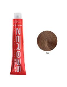 Coloração Hair-Tech 100ml - 6/8 Cacau Claro - Zero35 - Emmebi | Zero35 Com Amoníaco