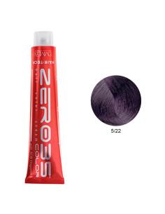 Coloração Hair-Tech 100ml - 5/22 Castanho Claro Violeta Intenso - Zero35 - Emmebi | Zero35 Com Amoníaco