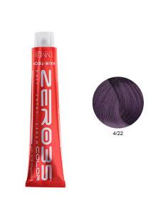 Coloração Hair-Tech 100ml - 4/22 Castanho Violeta Intenso - Zero35 - Emmebi   Zero35 Com Amoníaco