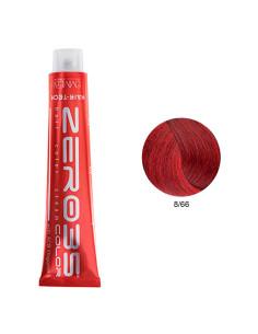 Coloração Hair-Tech 100ml - 8/66 Loiro Claro Avermelhado Intenso - Zero35 - Emmebi | Zero35 Com Amoníaco