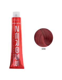 Coloração Hair-Tech 100ml - 6/66 Loiro Escuro Avermelhado Intenso - Zero35 - Emmebi   Zero35 Com Amoníaco
