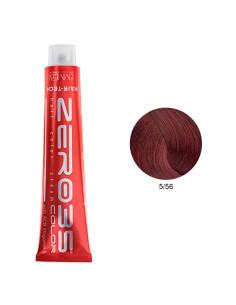 Coloração Hair-Tech 100ml - 5/56 Castanho Claro Avermelhado Veneziano - Zero35 - Emmebi | Zero35 Com Amoníaco