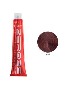 Coloração Hair-Tech 100ml - 4/62 Castanho Avermelhado Iridescente - Zero35 - Emmebi | Zero35 Com Amoníaco
