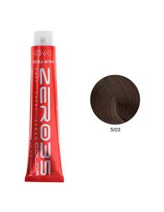 Coloração Hair-Tech 100ml - 5/03 Castanho Claro - Zero35 - Emmebi | Zero35 Com Amoníaco