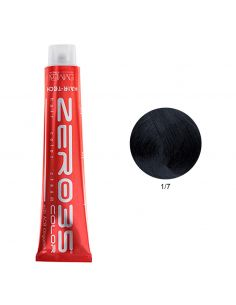 Coloração Hair-Tech 100ml - 1/7 Preto Azulado - Emmebi | Zero35 Com Amoníaco