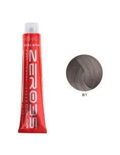Coloração Hair-Tech 100ml - 8/1 Loiro Claro Cinza - Zero35 - Emmebi | Zero35 Com Amoníaco