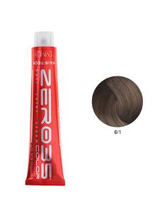 Coloração Hair-Tech 100ml - 6/1 Loiro Escuro Cinza - Zero35 - Emmebi   Zero35 Com Amoníaco