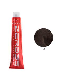Coloração Hair-Tech 100ml - 4/1 Castanho Cinza - Zero35 - Emmebi | Zero35 Com Amoníaco