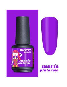 Verniz gel Maria Pintarola 15ml Violeta Tropical Coleção Maria Doce Verão Inocos | INOCOS Verniz Gel