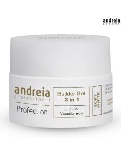 Andreia Builder Gel 3 em 1 SOFT WHITE 44gr DESC |