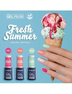 Coleção Fresh Summer - The Gel Polish Andreia - Edição Limitada |