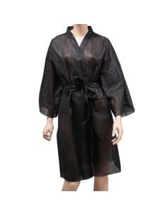 Kimono Descartável Preto - 1 uni. |