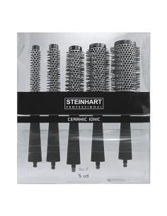 Pack 5 Escovas Térmicas Cerâmica Steinhart | Steinhart Profissional