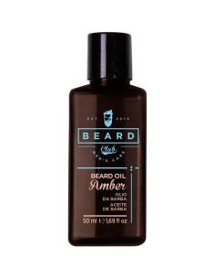 Óleo Barba Âmbar 50ml - Beard Club | Beard Club