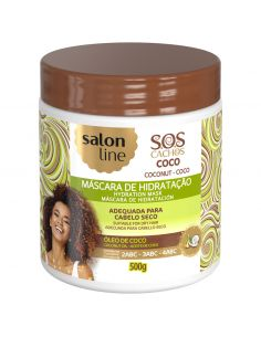 Máscara SOS Cachos Coco Tratamento Profundo 500gr - Salon Line | Salon Line