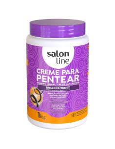 Creme de Pentear Brilho Intenso 1KG - Salon Line   Salon Line
